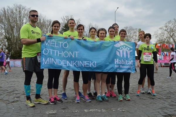 32. SPAR Budapest Maraton a Habitattal